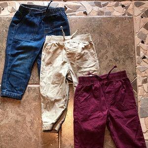 3 Pair Of Boy's Pants